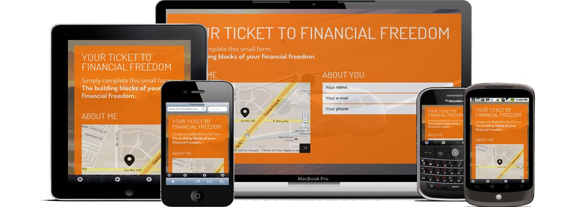 Responsive Mobile Website Design